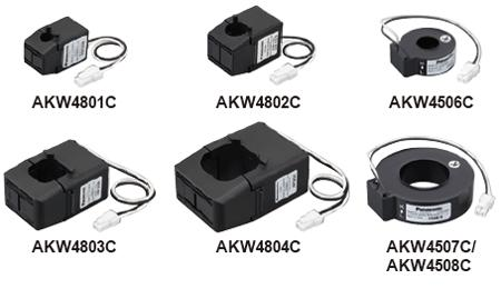 CT 600A penetration type AKW4508C for exclusive use of the current sensor (CT) Eco DIN type for exclusive use of Panasonic