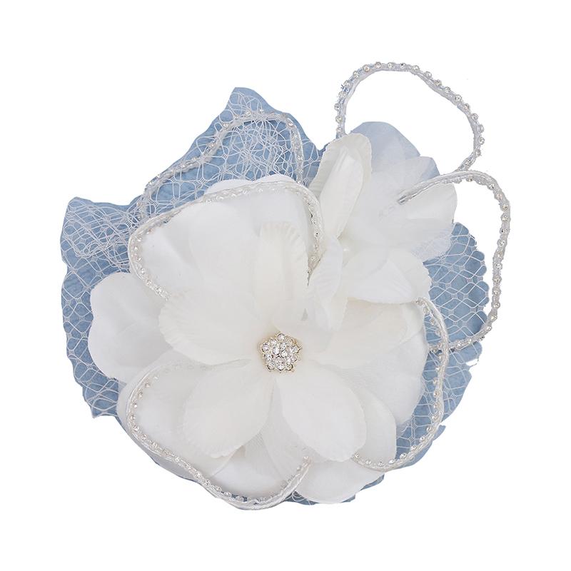 ヘッドドレス 髪飾り 花かんむり 花嫁 ウエディング ヘッドドレス fhds033we