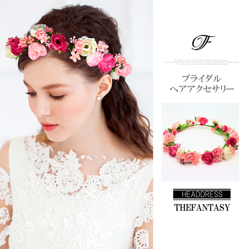 auc-fantasy-dress: Flower crown corolla