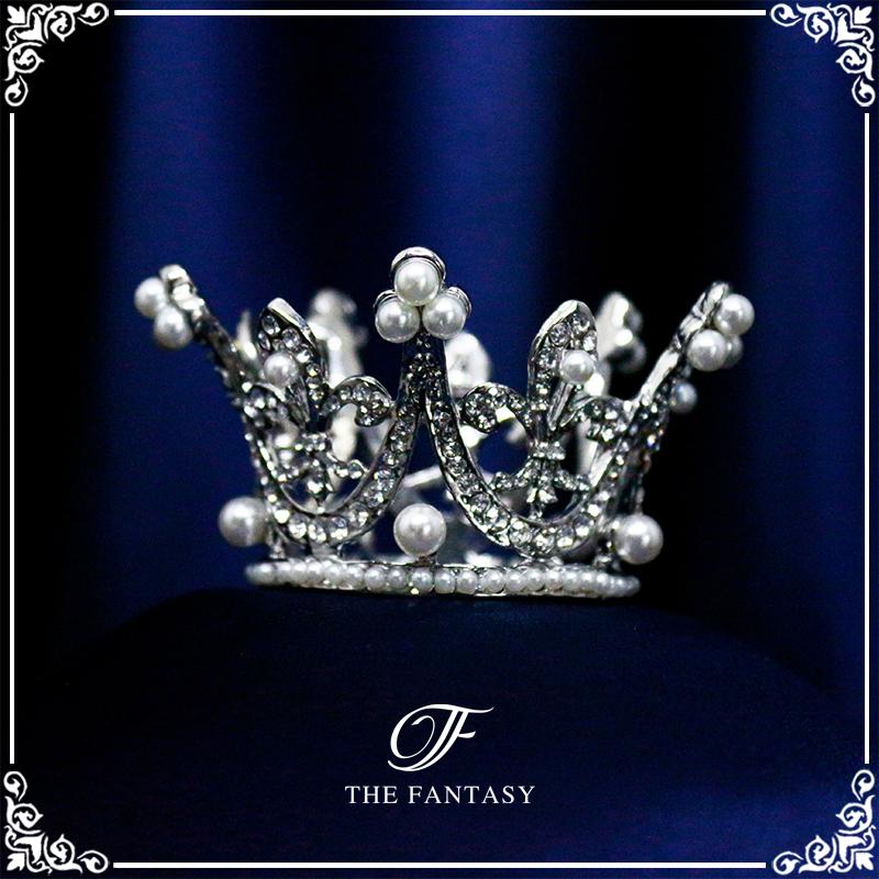 ティアラ結婚式キュービックジルコニア王冠ウエディングティアラブライダルtiara髪飾りft9067plsr