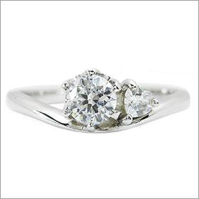 ダイヤモンド婚約指輪 サイズ直し一回無料0 4ct D VVS1 EXCELLENTサイドハート6本爪D1 プラチナ PqzVSUpGM