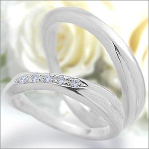 マリッジリング Eternita(エテルニタ) Passione(パッシオーネ) 《 MR-6M 》&《 MR-6LD 》2本セット PT950(純度95%プラチナ) / ダイヤモンド 約0.05ct