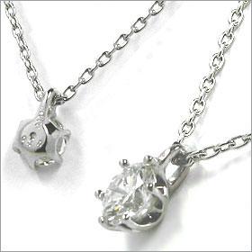 鑑定書付きネックレス  ダイヤモンド 1ct  D VS1 EXCELLENT H&C 3EX  丸アズキ プラチナ Pt900/Pt850