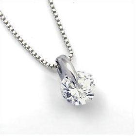鑑定書付きネックレス  ダイヤモンド 0.4ct  D IF EXCELLENT H&C 3EX  ベネチアン プラチナ Pt900/Pt850