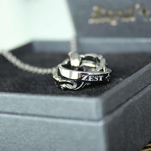 Ffactory Royal Stag Zest Closetome Silver Men S Ring Necklace
