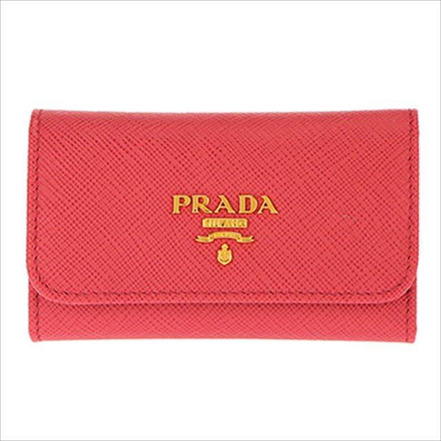 プラダ PRADA キーケース 1PG222 S/ME/PEONIA
