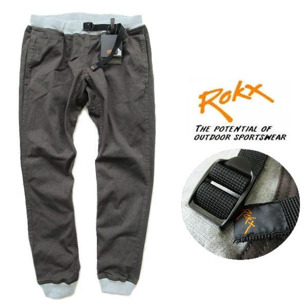 ROKX /ロックス【エムジーウッドパンツ】MG WOOD PANT リブクライミングパンツ RXMS191020 オリーブブラウン