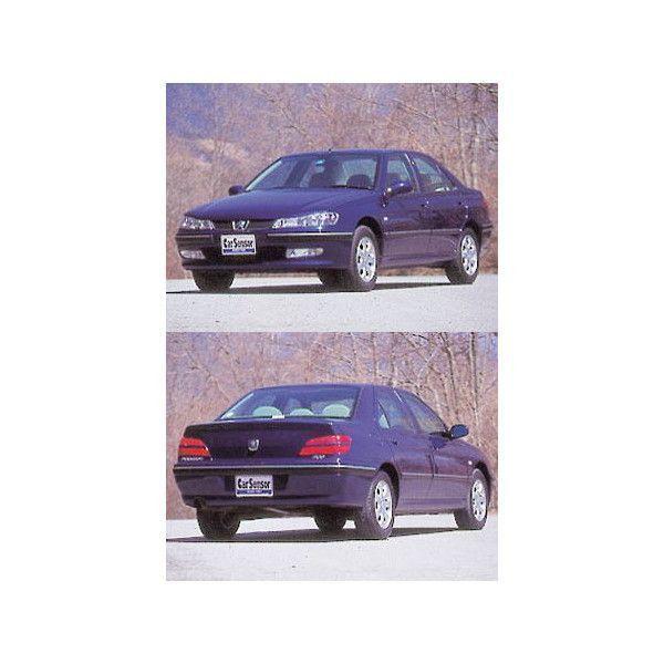 プジョー406セダン高品質、高精度、高透明カット済みカーフィルム(ウィンコススタンダード)D9L4・D9V・D93FZ