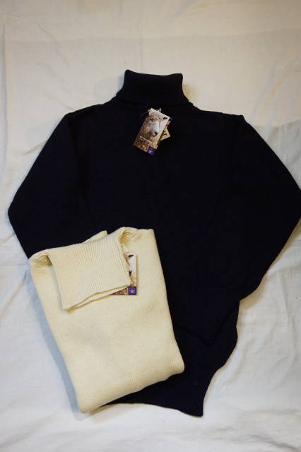 『Woolyback』【ウーリーバック】タートルセーターMADE IN ENGLAND