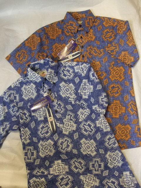 『PENDLETON』 (ペンドルトン) reyn spooner (レイン スプーナー)プルオーバーB.Dシャツ FABLIC USA