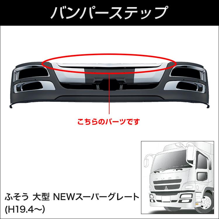 【バンパー用パーツ】NEWスーパーグレートバンパー バンパーステップ