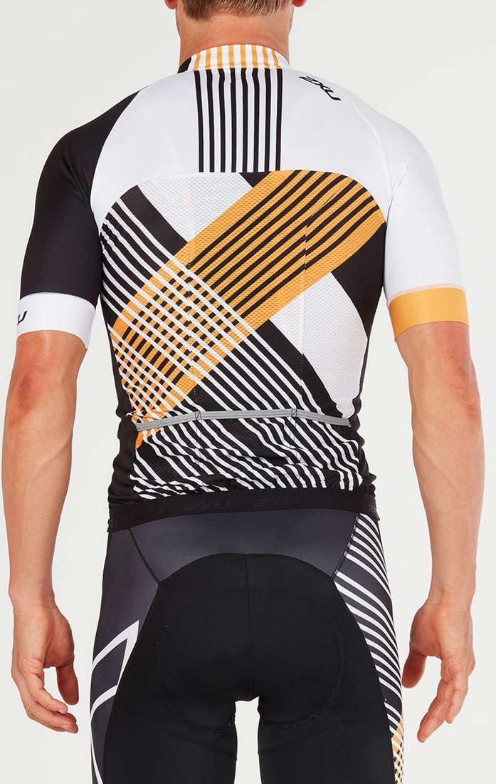77c3b8ef4 FLEET Bike and Triathlon  2XU SUB cycle jersey + bibb shorts set ...