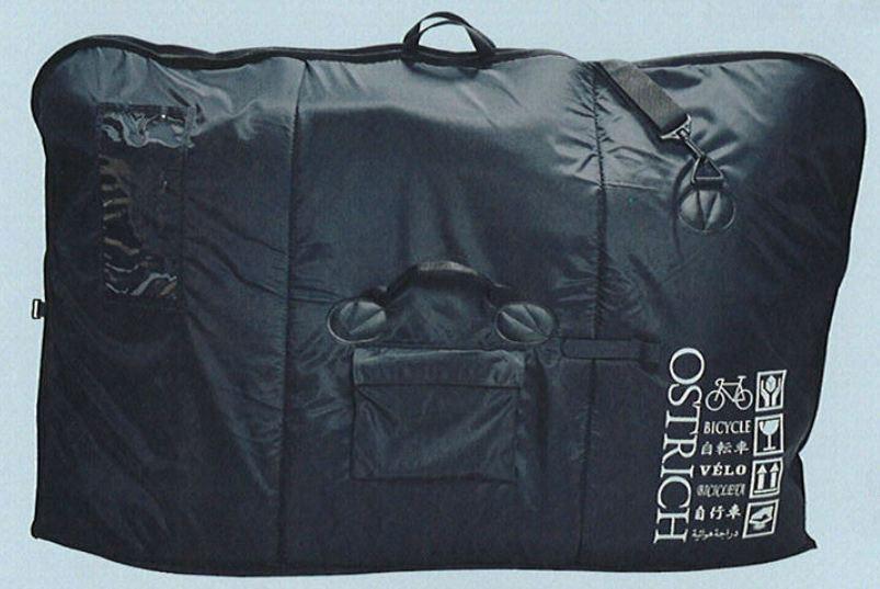 オーストリッチ OS-500 折りたたみ式 クッション材入り 自転車 移動用バッグ 電車移動に