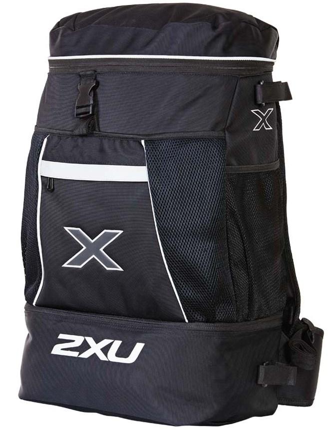 送料無料 大会会場への移動に 2XU トランジション バッグ Transition Bag 35L程度