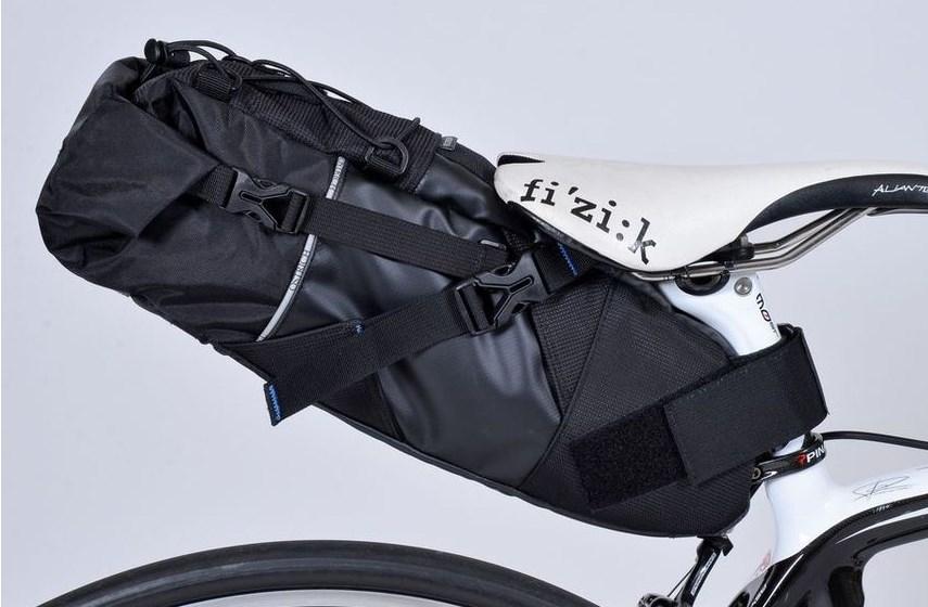 オーストリッチ スマートイージーパック サドルバッグ 容量7L インナーバッグ付 輪行 ロングライド 用に最適