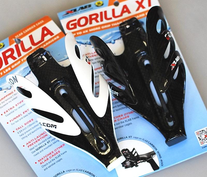 XLAB ゴリラ ゴリラXT カーボン ボトルケージ サドル後方のボトルケージ に最適 固定力が強くボトルが飛びにくい リア ハイドレーションシステム お得2個セット 送料無料