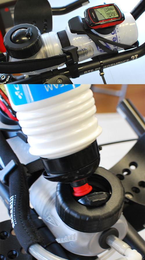捆绑包铁人三项赛了配给系统速度文件 Speedfil A2 + Z4 瓶笼子里交易