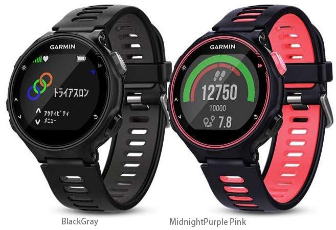 ガーミン For Athlete 735XTJ 多機能 GPS スポーツ ウオッチ 日本語正規版光学式 手首 心拍計 ランニングダイナミクス機能搭載 送料無料