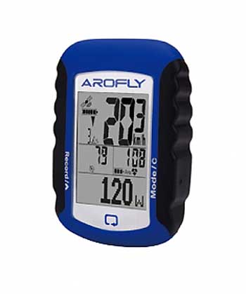 AROFLY アロフライ A-PLUS Meter GPSサイクルコンピュータ Bluetooth
