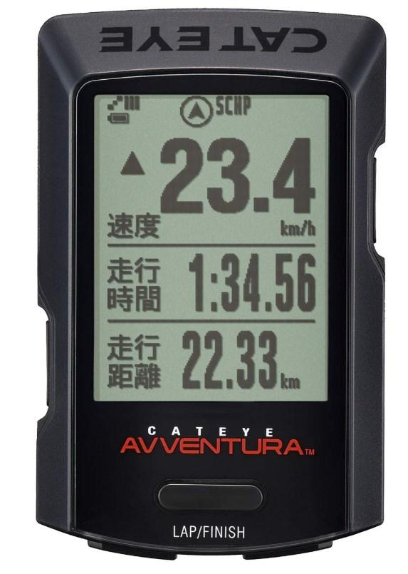 キャットアイ CC-GPS200 AVVENTURA 日本語 GPS サイクル コンピュータ 80時間 ANT+ Bluetooth