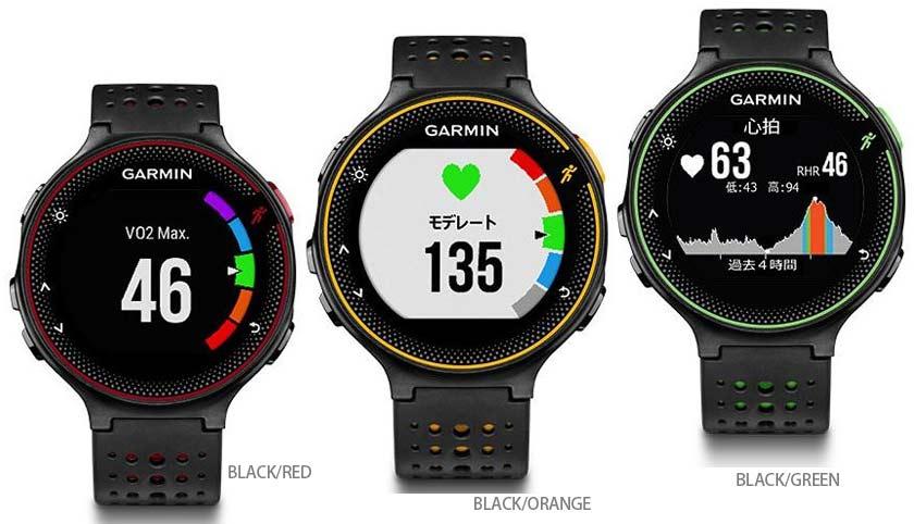 ガーミン フォーアスリート 235 For Athlete 235J 日本語正規版 光学式心拍計&高性能 GPSウオッチ