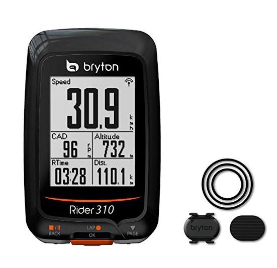 ブライトン Briton Rider 310C GPS サイクルコンピュータ ケイデンスセンサーセット