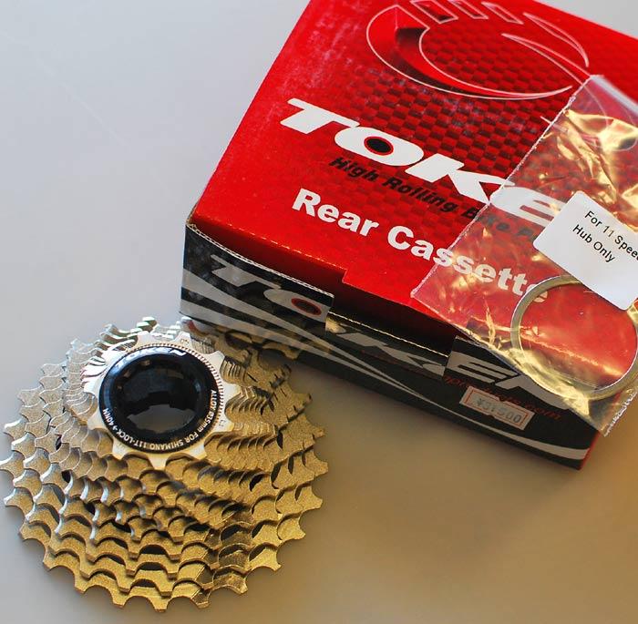 TOKEN トーケン 11 Speed リア カセットスプロケットTK1125/1128/1225 シマノ8-10S フリーボディに装着可能