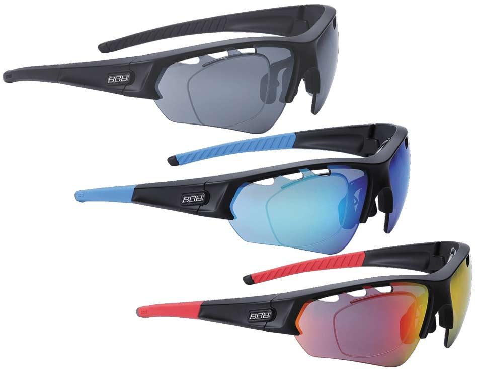 BBB ビービービー セレクト オプティック インナーフレーム付き 度付きレンズ対応 サングラス BSG-51 眼鏡使用