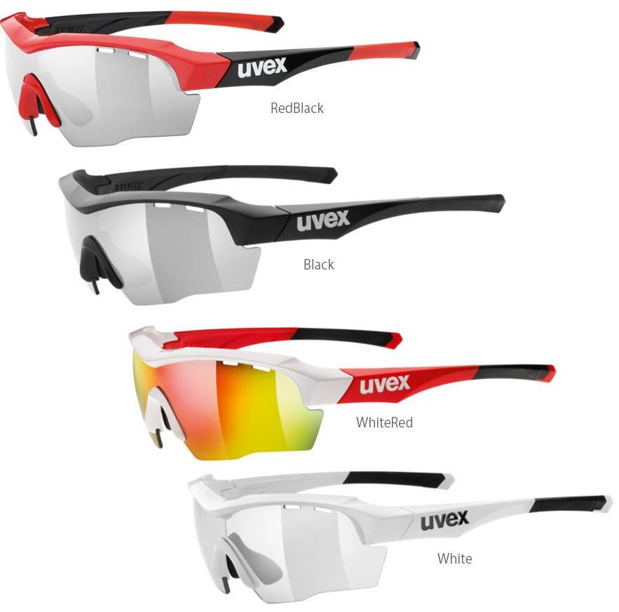 UVEX ウベックス SportStyle 104 スペアレンズ2枚 + 専用ケース付属 サングラス アイウエア