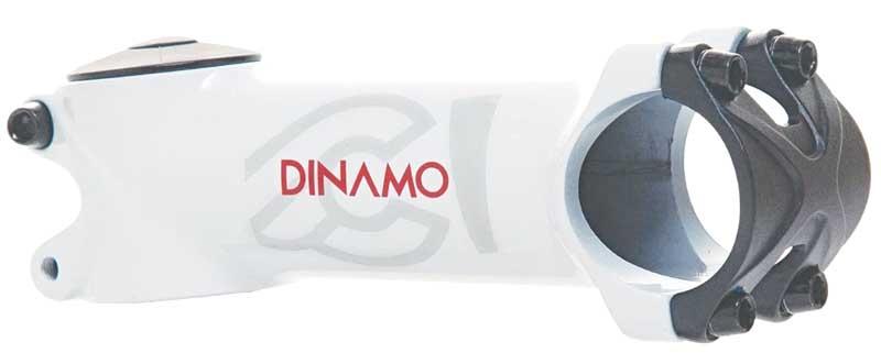 MASHロゴ ハンドルステム 超定番 チネリ Cinelli Dinamo アヘッド 新作製品 世界最高品質人気 ステム ホワイト 鍛造アルミ
