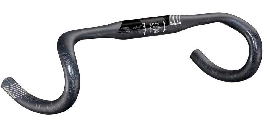 FSA SL-K コンパクト カーボン ドロップハンドル カーボン + ケブラーコンポジット成型