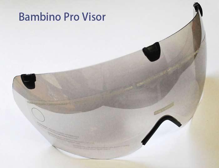 KASK BAMBINO カスク バンビーノ PRO TT 用 別売バイザー クリア お取り寄せ品