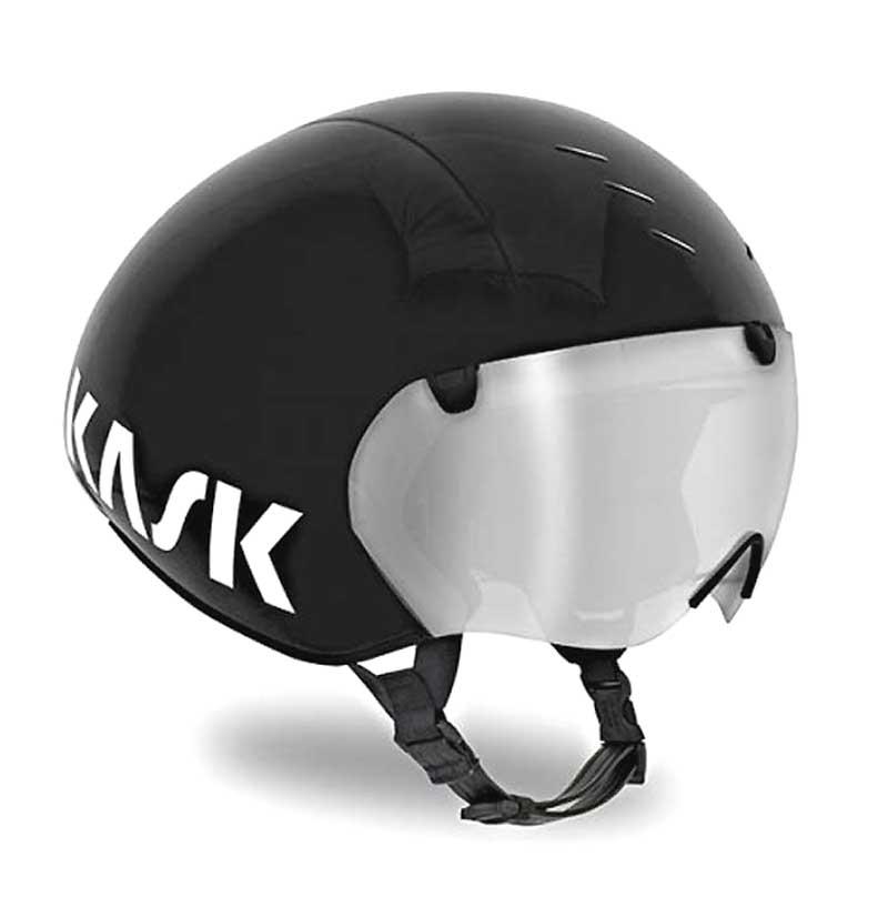 KASK BAMBINO PRO カスク バンビーノ プロ クリアバイザー付属 エアロヘルメット TEAM SKYが使用するTTヘルメット トライアスロンに最適