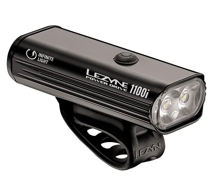 Max 1100ルーメン LEZYNE レザイン POWER DRIVE 1100i パワードライブ 確かな配光性能 小型軽量 2LED ライト