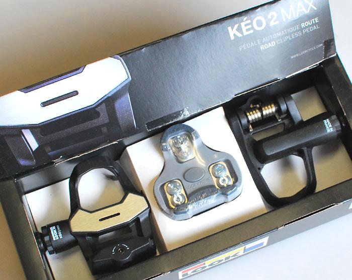 【接地面と剛性をUP!】KEO 2 MAX コンポジットボディ&オーバーサイズアクスル