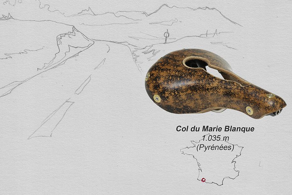 Gilles Berthoud Marie-Blanque 仏ジル・ベルソー 革サドル