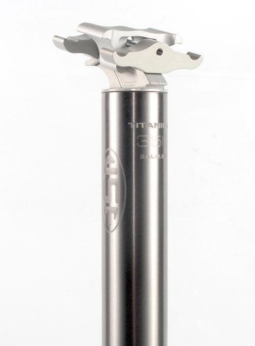 USE ALIEN エイリアン チタン シートポスト 270mm 美しいチタンフィニッシュ