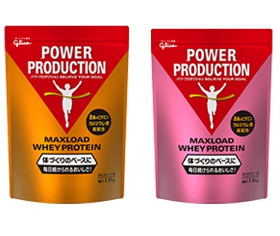 お気に入 爆買いセール マックスロード ホエイプロテイン 1kg Power 体づくりのベースに Production グリコ パワープロダクション