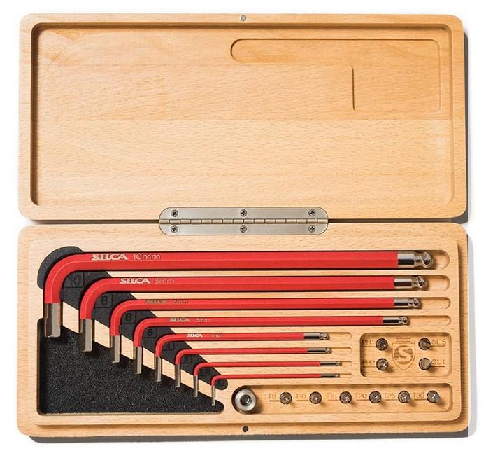 SILCA HX-One 六角 + トルクス レンチセット TOOL KIT BOX ヘックスレンチボックス