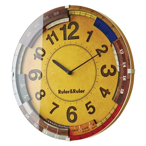 【本物新品保証】 RULER&RULER WALL WALL CLOCK CL-9584 ウォール (ルーラールーラー ウォール クロック) CL-9584【送料無料】【IF】, MAGICANDY(マジックキャンディ):ee957403 --- canoncity.azurewebsites.net