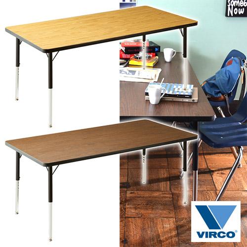 激安超安値 VIRCO 4000 TABLE L 4000 (バルコ 4000 テーブル L L) L)【送料無料】, 天白区:ea5f6e4f --- konecti.dominiotemporario.com
