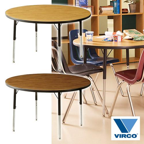 VIRCO 4000 TABLE ROUND M (バルコ 4000 テーブル ラウンド M) 【送料無料】