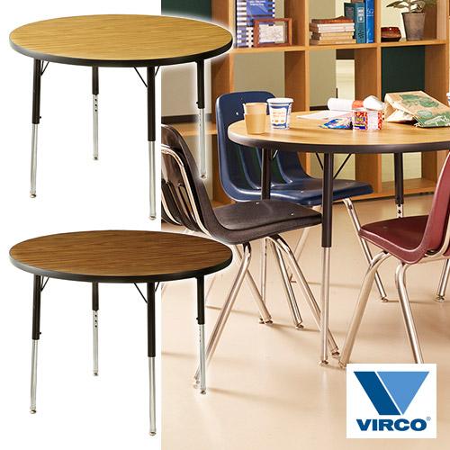 VIRCO 4000 TABLE ROUND S (バルコ 4000 テーブル ラウンド S) 【送料無料】