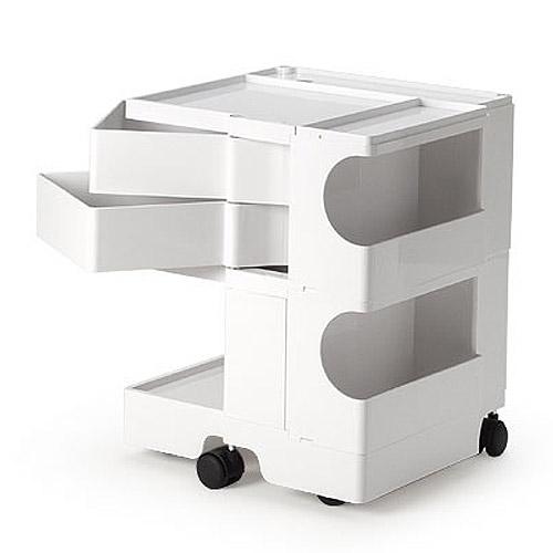正規輸入品 BOBY WAGON 2×2 WHITE (ボビーワゴン 2段2トレイ ホワイト) 【送料無料】