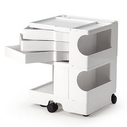 正規輸入品 BOBY WAGON 2×3 WHITE (ボビーワゴン 2段3トレイ ホワイト) 【送料無料】
