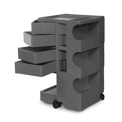正規輸入品 BOBY WAGON 3×4 GRAY (ボビーワゴン 3段4トレイ グレー) 【送料無料】