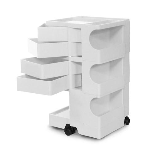 多様な 正規輸入品 BOBY WAGON 3×4 WHITE 3×4 (ボビーワゴン WAGON 3段4トレイ ホワイト)【送料無料 WHITE】, 優先配送:a92e22b0 --- canoncity.azurewebsites.net