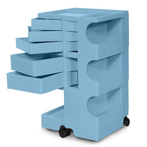 正規輸入品 BOBY WAGON 3×5 BONNIE BLUE (ボビーワゴン 3段5トレイ ボニーブルー) 【送料無料】
