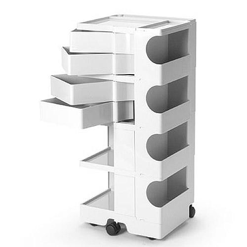 正規輸入品 BOBY WAGON 4×4 WHITE (ボビーワゴン 4段4トレイ ホワイト) 【送料無料】