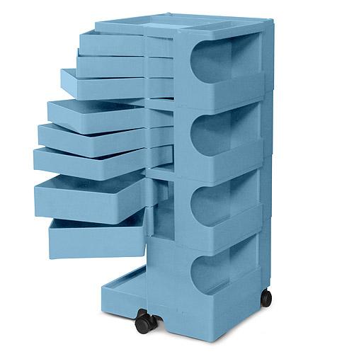 ■ 正規輸入品 BOBY WAGON 4×8 BONNIE BLUE (ボビーワゴン 4段8トレイ ボニーブルー) 【送料無料】